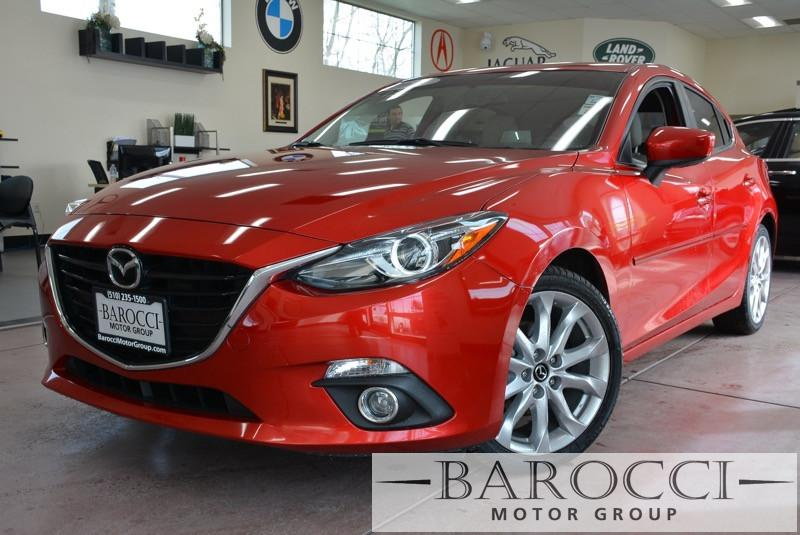 2014 Mazda MAZDA3 Grand Touring 4dr Hatchback 6 Speed Auto Red Beige SKYACTIVE 2 5 L DOHC 4 CYL