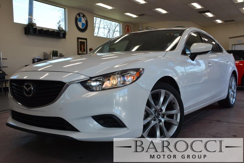 2014 Mazda MAZDA6 i Touring 4dr Sedan 6A 6 Speed Auto White ABS Air Conditioning Alarm Alloy