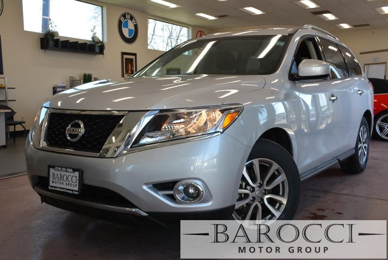 2015 Nissan Pathfinder SV 4dr SUV Continuously Variable Transmission Silver Black Electronic Br