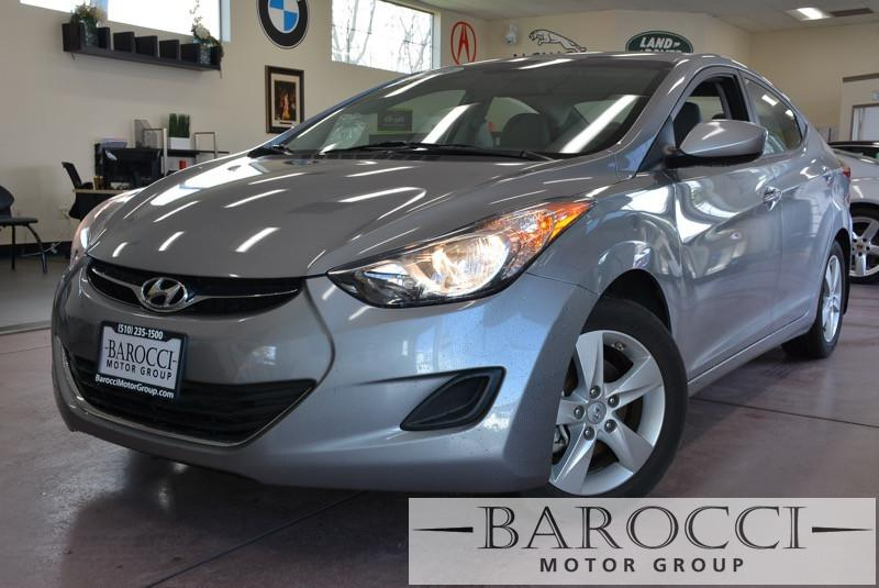 2013 Hyundai Elantra GLS 4dr Sedan 6A 6 Speed Auto Gray Child Safety Door Locks Power Door Lock
