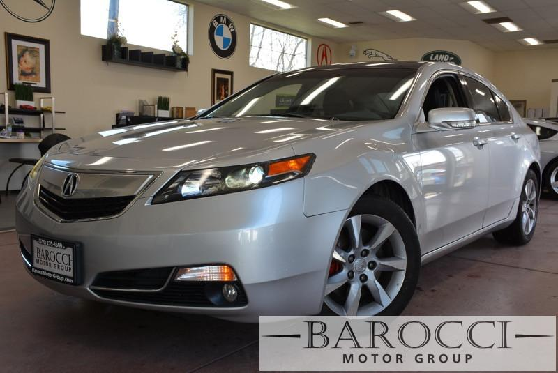2012 Acura TL WTechnology Package Automatic Silver Black Now offering an immaculate 2012 Acura