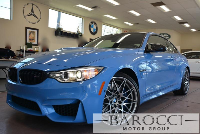 2016 BMW M4 Competition Package 2dr Coupe 6 Speed Manual Blue Black One of a Kind New Arrival w