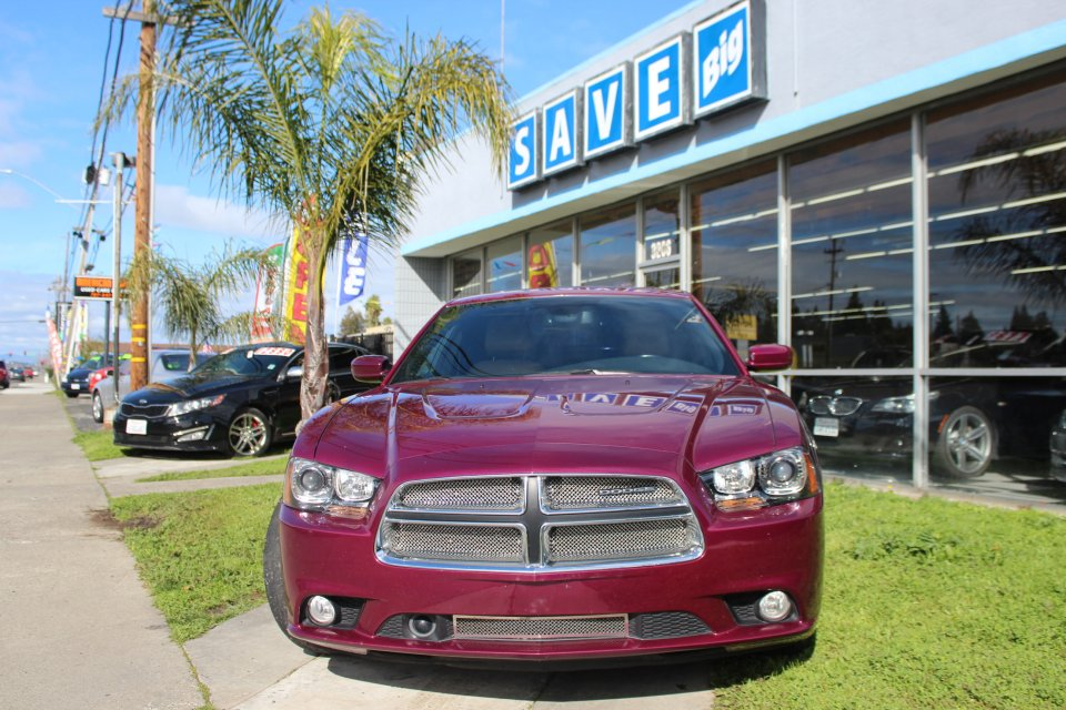 2011 Dodge Charger RT 5-Speed Automatic Purple Tan Air Conditioning Alarm Power Steering Po