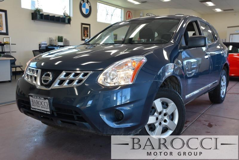 2013 Nissan Rogue S 4dr Crossover CVT Continuously Variable Gray Gray 170 hp horsepower 2 5
