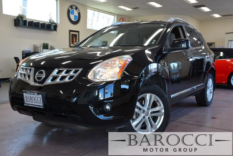 2013 Nissan Rogue SV 4dr Crossover CVT Continuously Variable Black Gray 170 hp horsepower 2