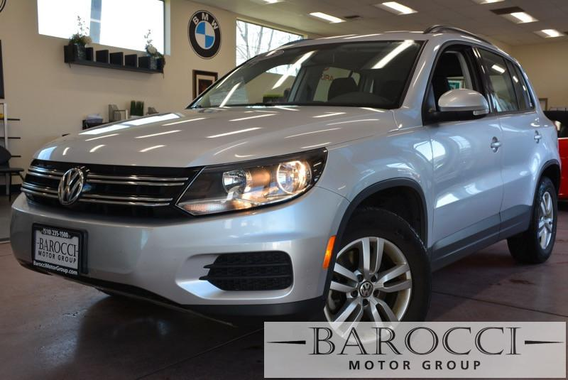 2015 Volkswagen Tiguan S 4Motion AWD  4dr SUV 6 Speed Auto Silver Gray This is an excellent 201