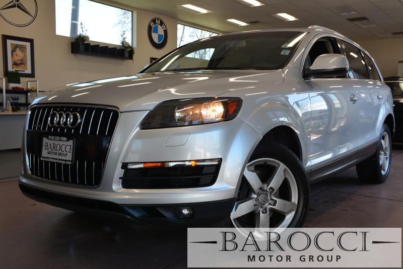 2013 Audi Q7 30T quattro Premium AWD  4dr SUV 8 Speed Auto Silver ABS Air Conditioning Alarm