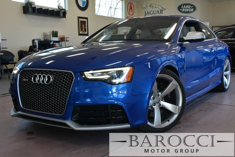 2013 Audi RS 5 quattro AWD  2dr Coupe 7 Speed Auto Blue Gray One of a KindLike new Power Door