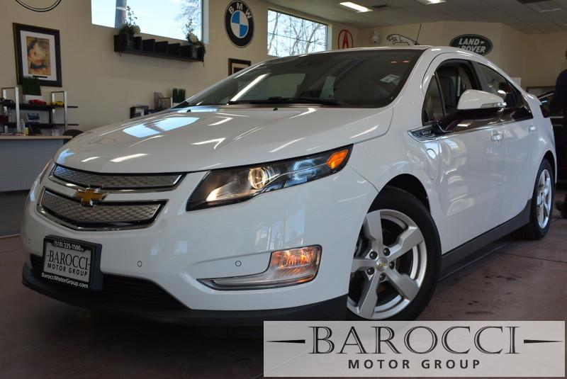 2014 Chevrolet Volt Premium 4dr Hatchback 1 Speed Auto White Black ABS Air Conditioning Alarm