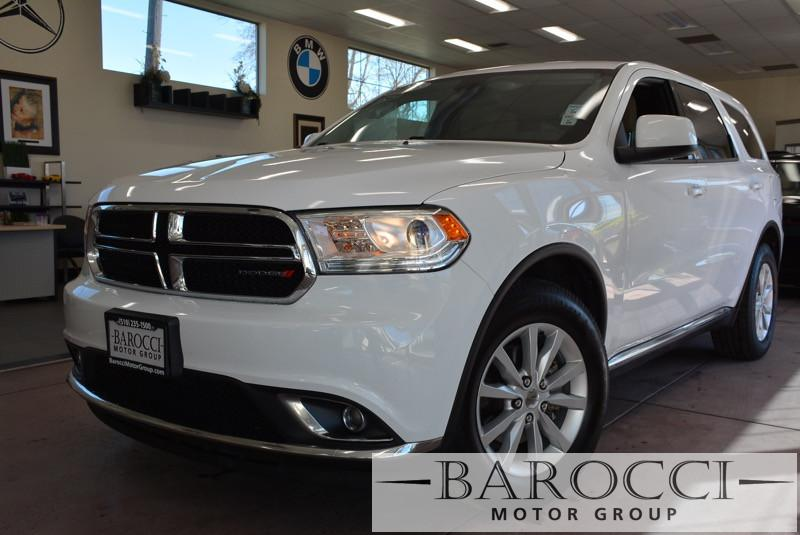 2015 Dodge Durango SXT AWD  4dr SUV 8 Speed Auto White Child Safety Door Locks Power Door Locks