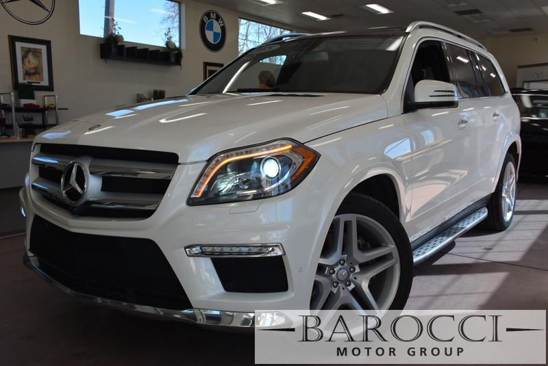 2015 MERCEDES GL-Class GL550 4MATIC AWD  4dr SUV 7 Speed Auto White Black Like NewLease Return