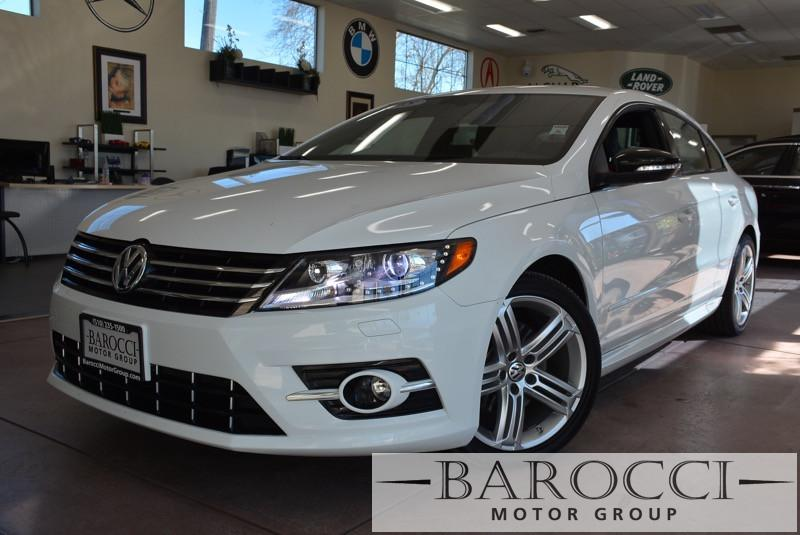 2015 Volkswagen CC Sport PZEV 4dr Sedan 6M 6 Speed Man White 8 Speakers AM FM radio SiriusXM