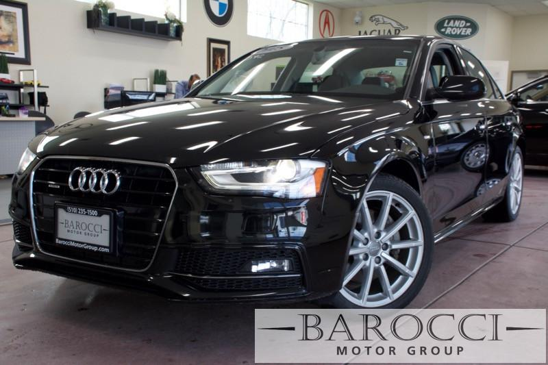 2015 Audi A4 20T quattro Premium PlusAWD 8 Speed Auto Black Black ABS Air Conditioning Alarm
