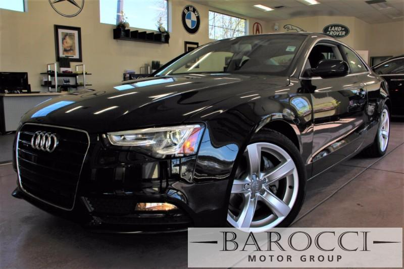 2015 Audi A5 20T quattro Premium AWD  2dr Coupe 8 Speed Auto Black Black This is a beautiful v