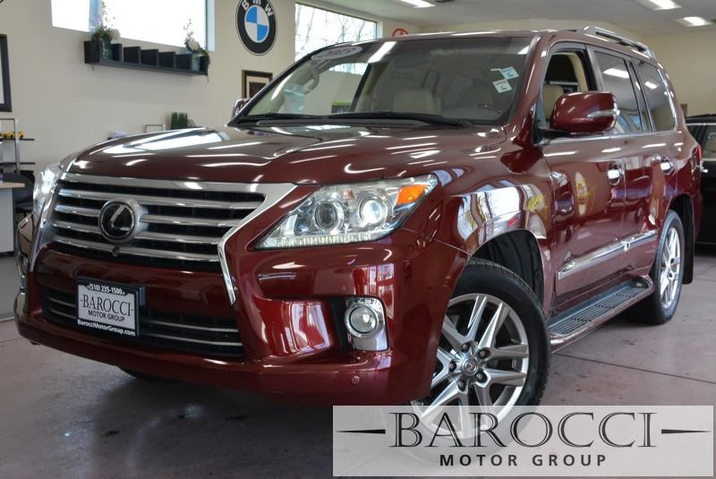 2013 Lexus LX 570 Base 4x4 4dr SUV 6 Speed Auto Red Child Safety Door Locks Vehicle Anti-Theft