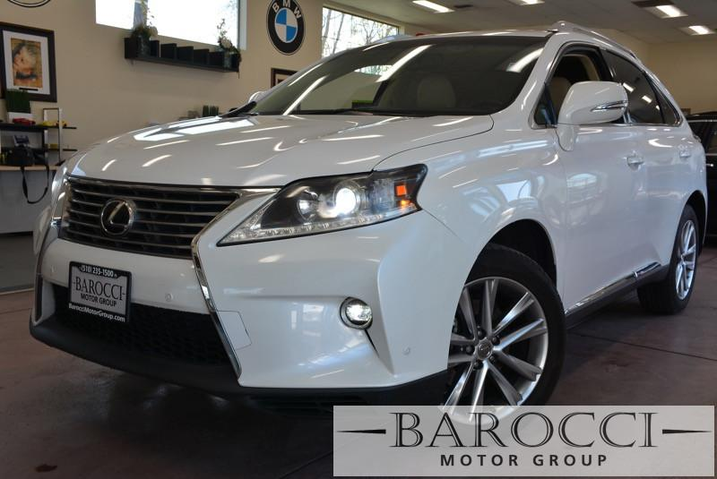 2015 Lexus RX 350 Base 4dr SUV 6 Speed Auto White Tan Up for sale is a striking one owner 2015