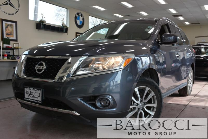 2013 Nissan Pathfinder SV 4dr SUV Continuously Variable Transmission Gray Tan Electronic Brake