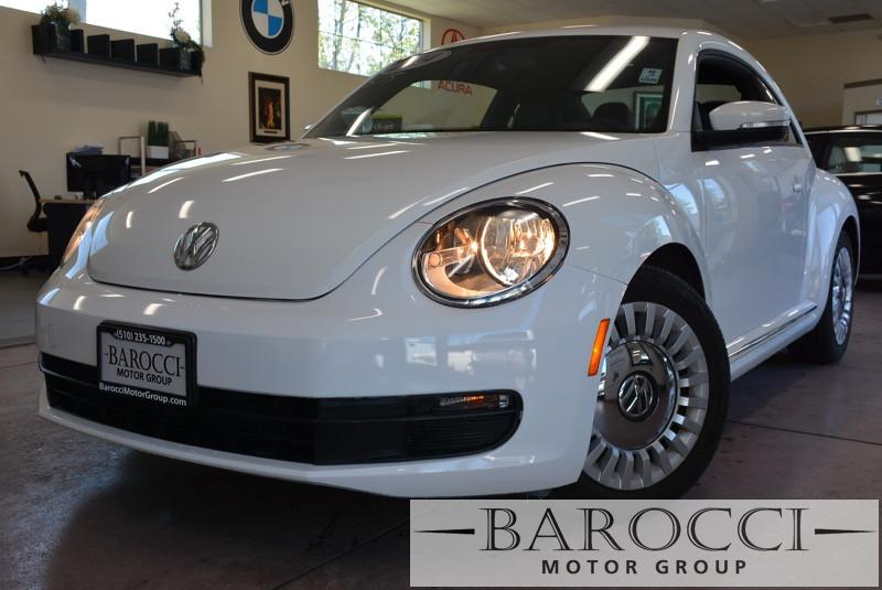 2014 Volkswagen Beetle 25L PZEV 2dr Hatchback 6A 6 Speed Auto White Air Conditioning Alarm Po