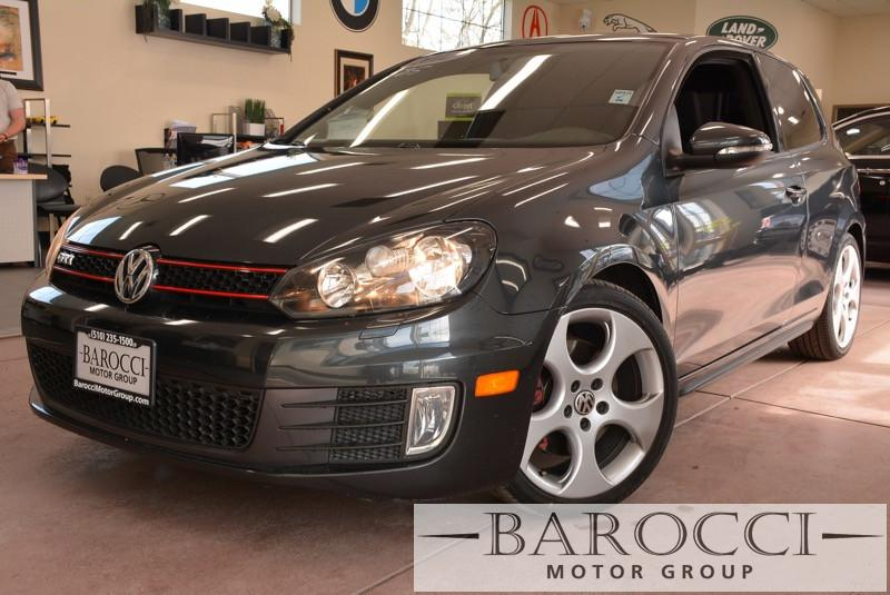 2012 Volkswagen GTI Base PZEV 2dr Hatchback 6M 6 Speed Man Black Gray Air Conditioning Power