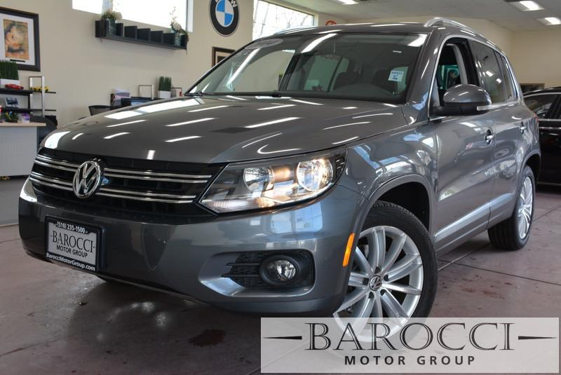 2014 Volkswagen Tiguan SE 4dr SUV 6 Speed Auto Gray Black Up for sale is a superb one owner 201