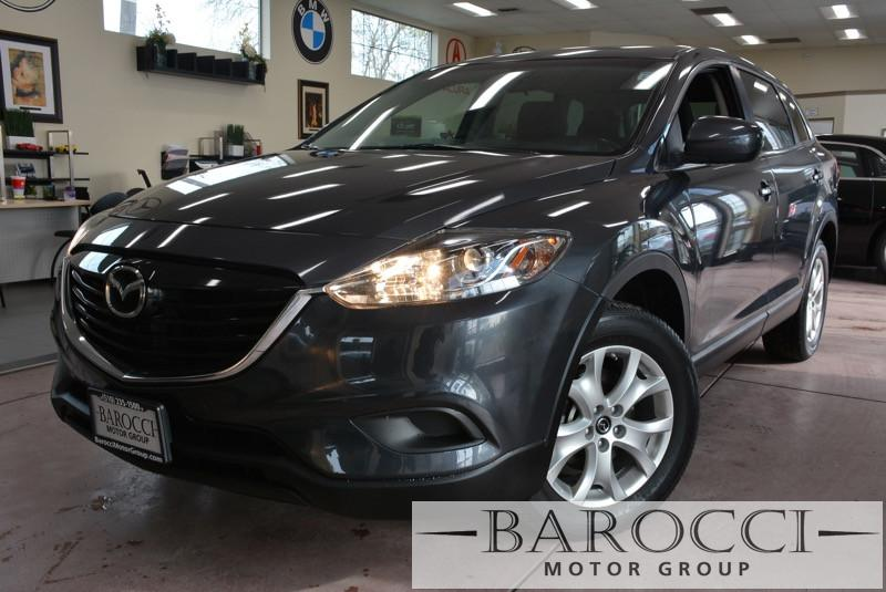 2013 Mazda CX-9 Sport 4dr SUV 6 Speed Auto Gray Black Great spacious 7 seater SUV comes with a