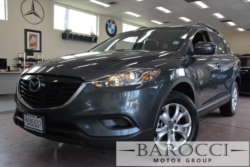2014 Mazda CX-9 Sport AWD  4dr SUV 6 Speed Auto Gray Black Child Safety Door Locks Power Door