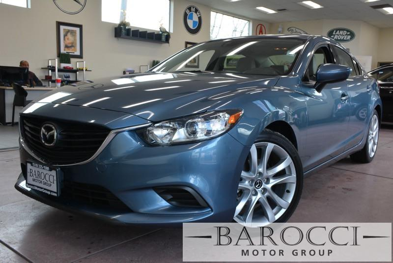 2015 Mazda MAZDA6 Grand Touring 4dr Sedan 6A 6 Speed Auto Blue Black ABS Air Conditioning Ala