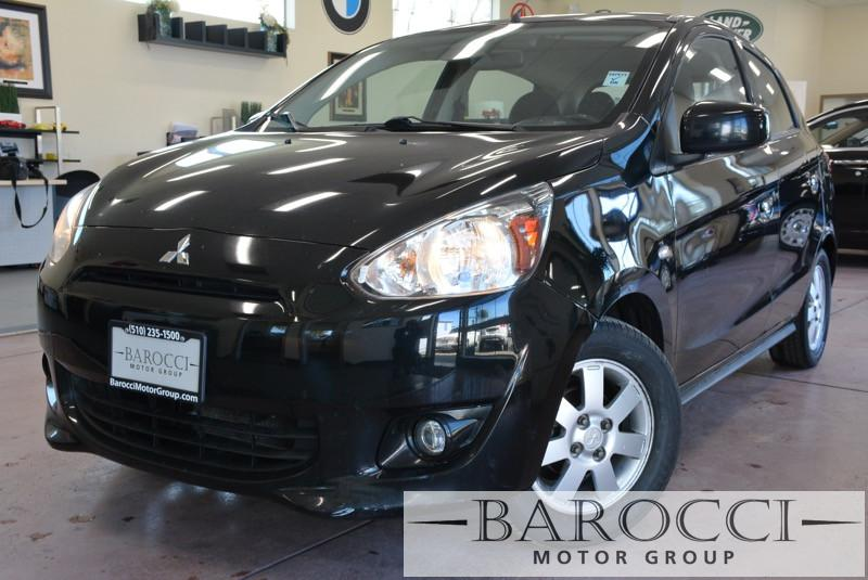 2014 Mitsubishi Mirage ES 4dr Hatchback CVT Automatic CVT Black Child Safety Door Locks Power D