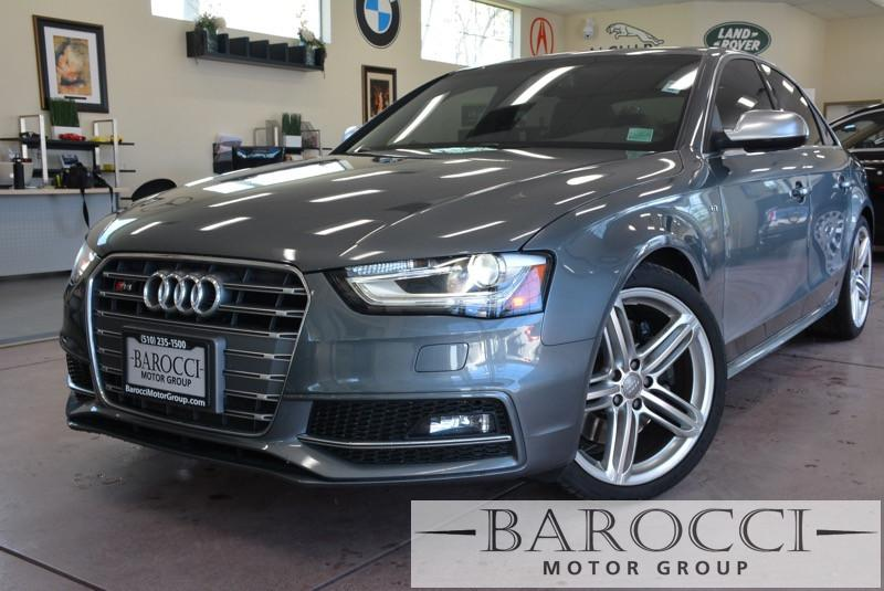 2013 Audi S4 30T quattro Premium Plu AWD 7 Speed Auto Gray Black Warranrty 100k Included ABS
