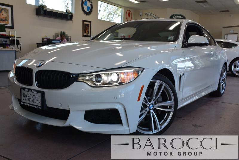 2014 BMW 4 Series 435i 2dr M Sport Pkg Automatic White Black We are pleased to offer a super ni