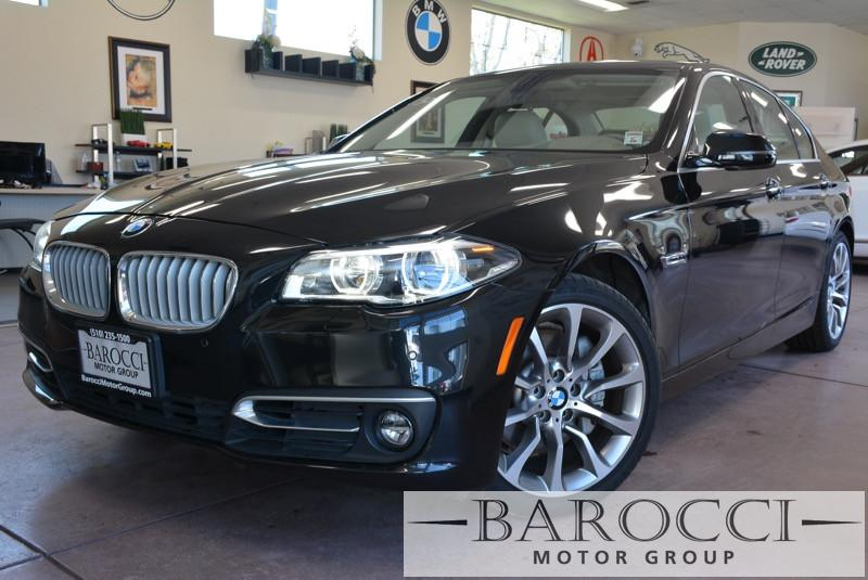 2014 BMW 5 Series 535i 4dr Sedan 8-Speed Automatic Black Off White Up for sale is a fabulous on
