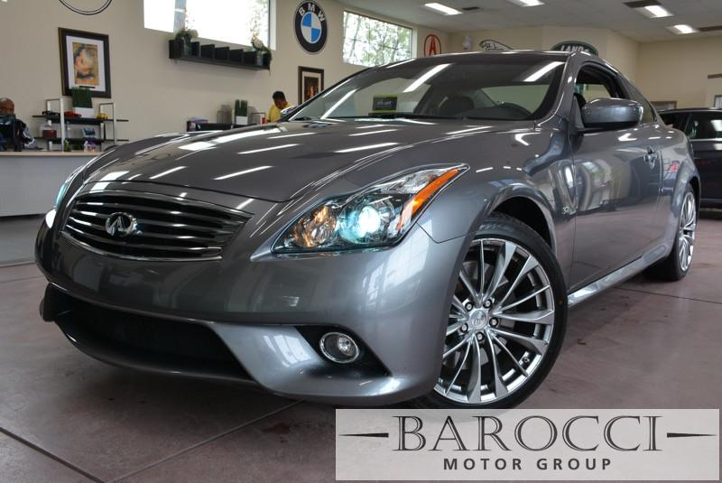 2014 Infiniti Q60S Coupe Sport 2dr Coupe 7 Speed Auto Gray Black Now offering a sublime one own