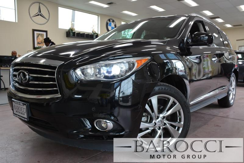 2014 Infiniti QX60 Base AWD 4dr SUV AUTO CVT W MAN  SPT MD Black Black Now offering a superb