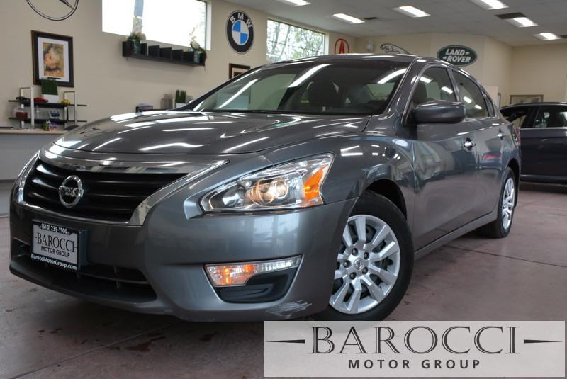 2014 Nissan Altima 25 S 4dr Sedan Continuously Variable Transmission  Gray Black You are looki