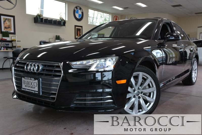 2017 Audi A4 20T Premium 4dr Sedan 7 Speed Auto Black Black Now offering a very nice one owner