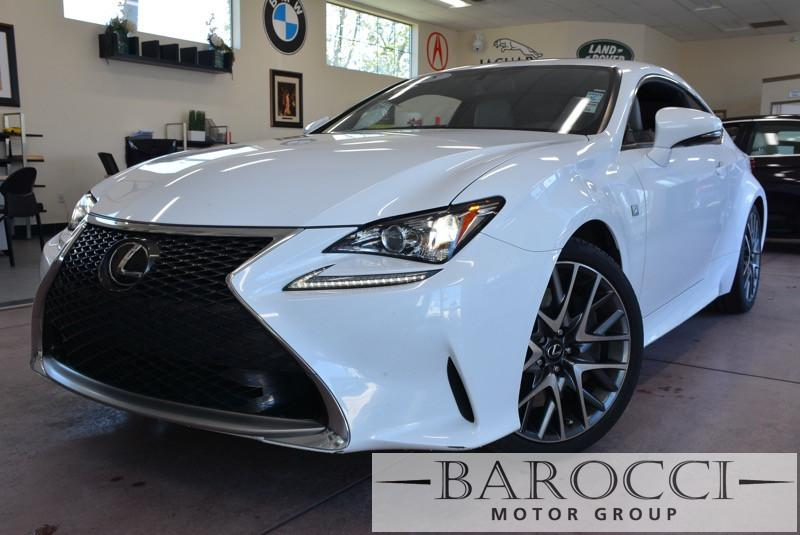 2015 Lexus RC 350 F SPort F Sport 2dr Coupe 8 Speed Auto White Black Child Safety Door Locks P