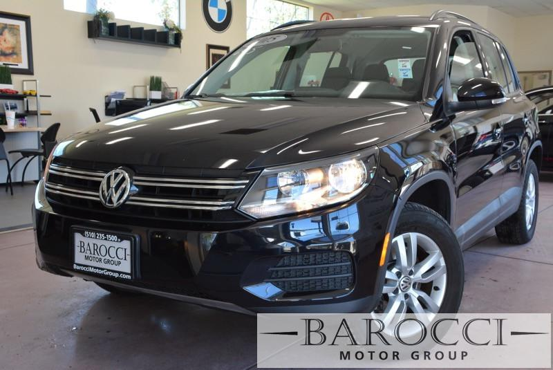 2015 Volkswagen Tiguan S 4dr SUV 6 Speed Auto Black Child Safety Door Locks Power Door Locks V