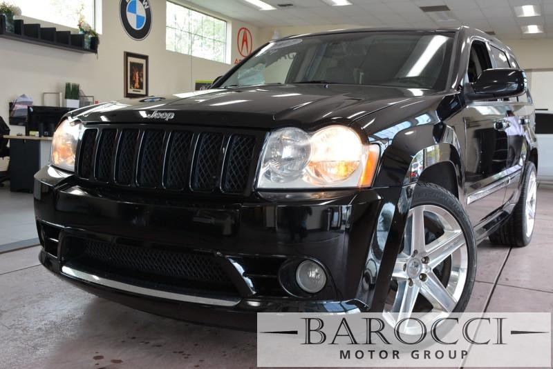 2007 Jeep Grand Cherokee SRT8 4dr SUV 4WD 5 Speed Auto Black Gray We are proud to offer a super