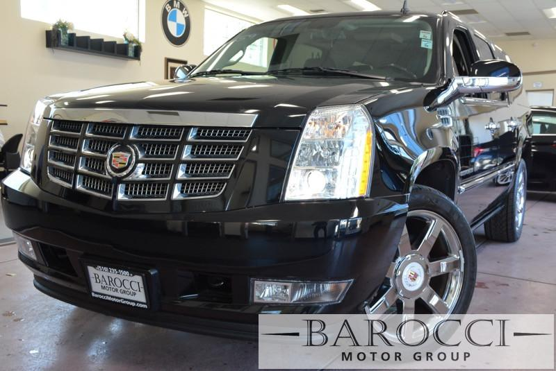 2013 Cadillac Escalade ESV Luxury 4dr SUV 6 Speed Auto Black Black Child Safety Door Locks Pow