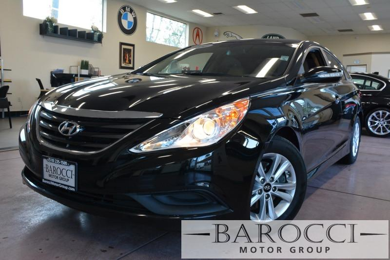 2014 Hyundai Sonata GLS 4dr Sedan 6 Speed Auto Black Child Safety Door Locks Power Door Locks