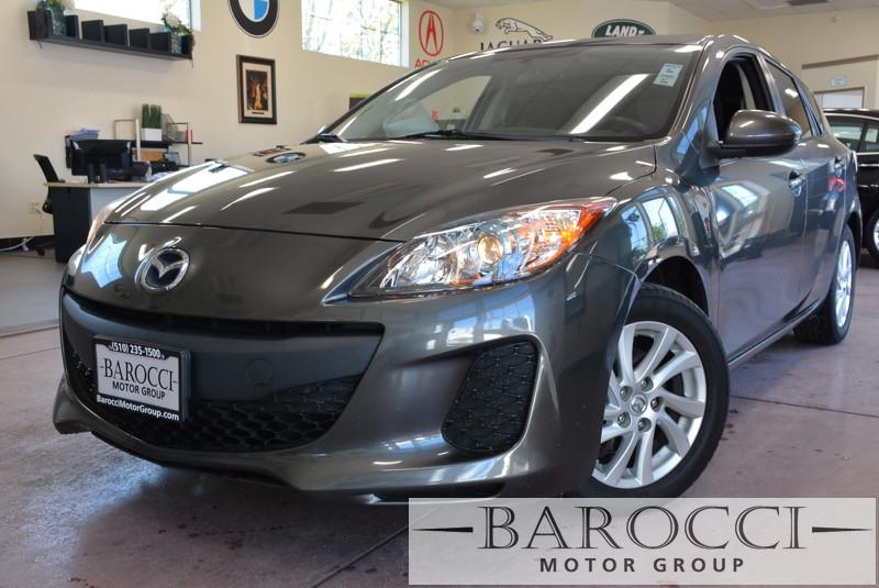 2012 Mazda MAZDA3 i Touring 4dr Hatchback 6A 6 Speed Auto Gray Black Child Safety Door Locks P