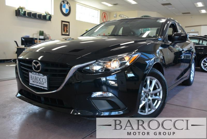2014 Mazda MAZDA3 i Touring 4dr Sedan 6A 6 Speed Auto Black Black Child Safety Door Locks Powe
