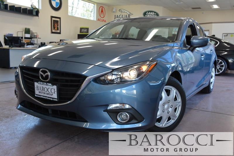 2014 Mazda MAZDA3 i Sport 4dr Sedan 6A 6 Speed Auto Blue Black Air Conditioning Alarm Power S