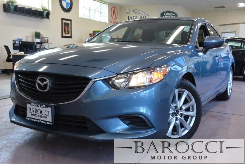 2014 Mazda MAZDA6 i Sport 4dr Sedan 6A 6 Speed Manual Blue Black ABS Air Conditioning Alarm