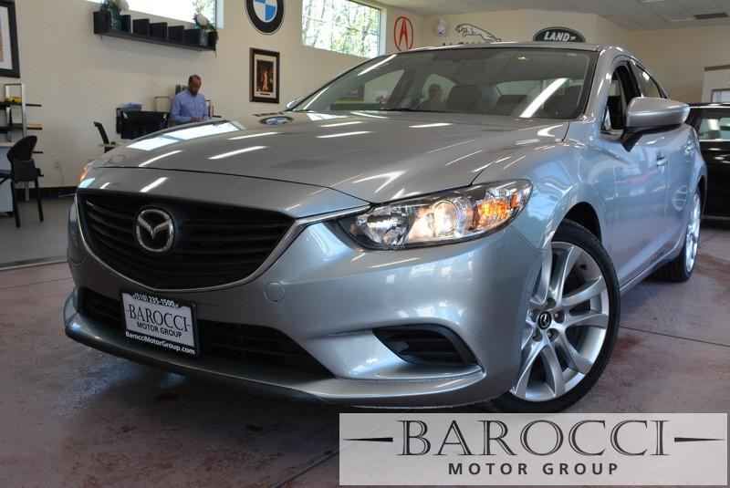 2014 Mazda MAZDA6 i Touring 4dr Sedan 6A 6 Speed Auto Silver Black ABS Air Conditioning Alarm