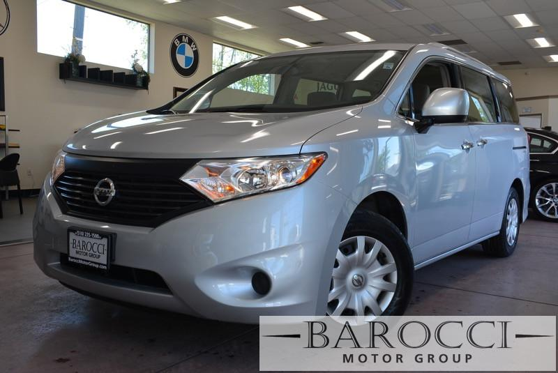 2015 Nissan Quest 35 S 4dr Mini-Van Continuously Variable Transmission Silver Gray Child Safet