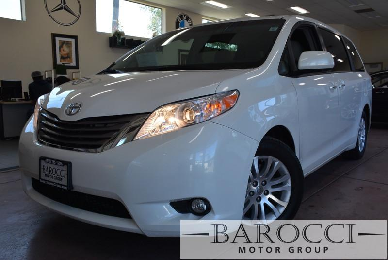 2015 Toyota Sienna XLE 7-Passenger Auto 4dr Mini-Van 6 Speed Auto White Tan ABS 4-Wheel Air Co