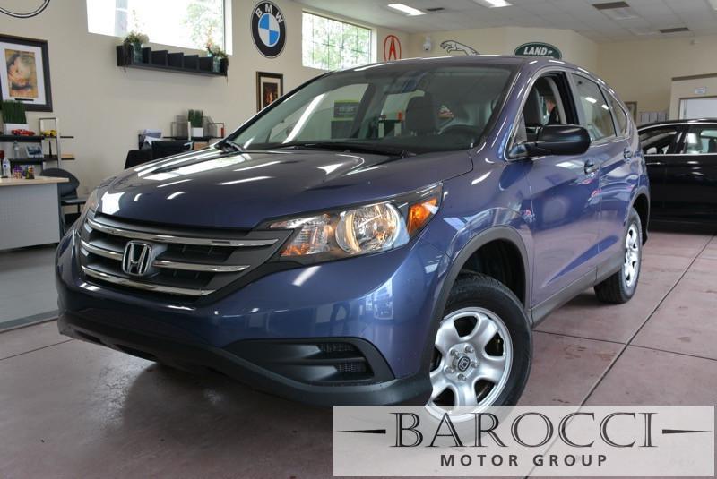 2014 Honda CR-V LX AWD  4dr SUV 5 Speed Auto Blue All Wheel Drive Power Steering 4-Wheel Disc