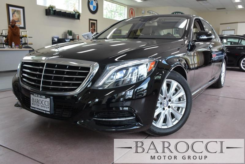 2014 MERCEDES S-Class S550 4dr Sedan 7 Speed Auto Black Child Safety Door Locks Power Door Lock