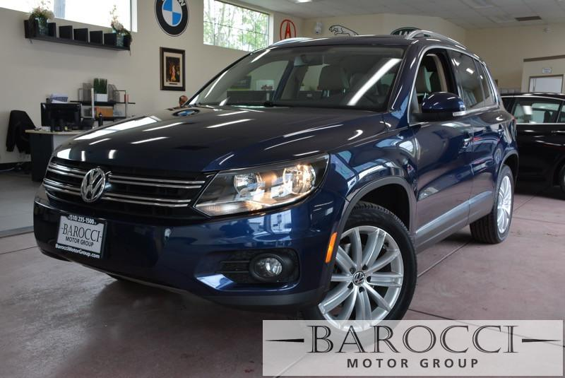 2013 Volkswagen Tiguan SE 4Motion AWD  4dr SUV 6 Speed Auto Blue Child Safety Door Locks Power